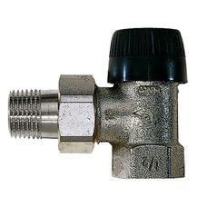 Термостатический клапан Honeywell V2000EBB угловой
