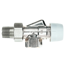 Термостатический клапан Honeywell V2000AUB осевой