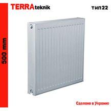 Стальные радиаторы Terra Teknik 22 тип высота 500 с боковым подключением