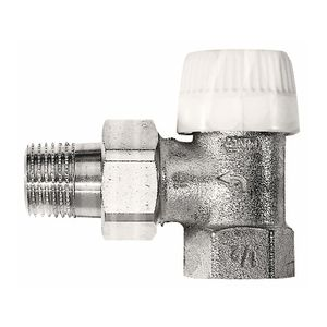Термостатический клапан Honeywell V2000EUB угловой
