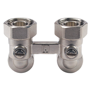 Запорно-присоединительный клапан Honeywell Verafix-VK V2461EX угловой
