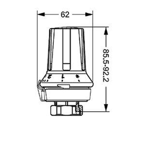 Термоголовка Danfoss RA 5030