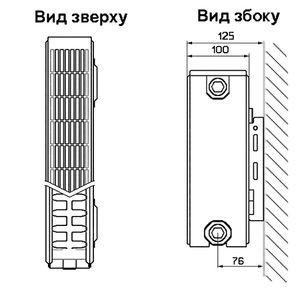 Стальные радиаторы Henrad Compact 22 тип высота 500 мм